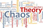 Chaos Theory Word Cloud