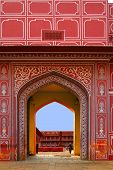 Entrance To City Palace, Jaipur, India