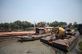 The construction Ship