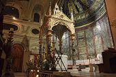 Santa Cecilia Canopy In Rome, Italy
