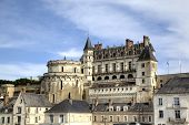 Amboise Castle. Valley of Loire, France