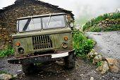 Abandoned Russian Truck