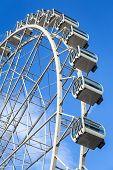 Ferris Wheel At Andorra La Vella Andorra