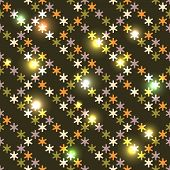 Christmas bright seamless with snowflakes