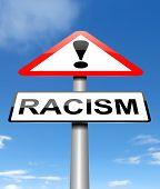Racism Concept.
