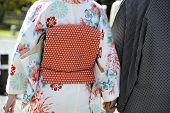 Geisha With Her Husband