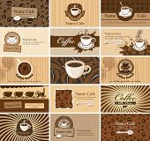 Cards on coffee