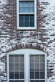 Windows and Arch in Brick Wall