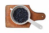 Blueberries In A Dipper
