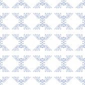 vector seamless pattern with birds, background