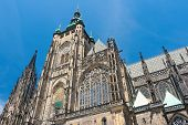 Czech Republic: St. Vitus Cathedral In Prague.
