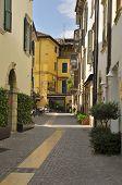 Street In The Village Of Peschiera