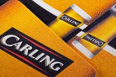 Beermats from Carling Brewery