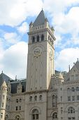 pic of old post office  - Old Post office pavilion with bell tower in Washington DC - JPG