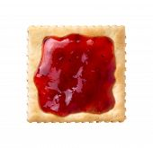Strawberry Preserves an a Cracker