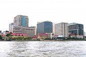 Siriraj Hospital At The Chao Praya River In Bangkok Thailand