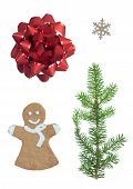Christmas Set With Four Symbols