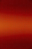 Gradient Red Color Perforated Metal Sheet