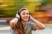 fun with music headphones