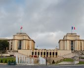 Trocadero And The Palais De Chaillot. Paris, France.