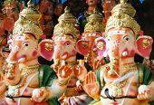 Festival de Ganesh estatuas
