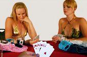 Royal Flush in strip poker
