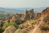 stock photo of goreme  - national park Goreme in Cappadocia in Turkey - JPG