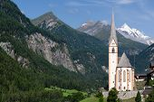 Church Of Heiligenblut in Austria
