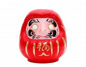 Japanese daruma lucky doll