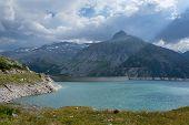 Reservoir Kölnbrein in Austria
