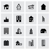 Vector building icon set