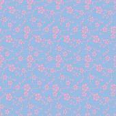 Japanese seamless sakura pattern