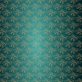 Chinese Blue Cloud Pattern Background