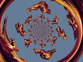 gold Kaleidoscope