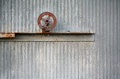 Rusted wheel valve