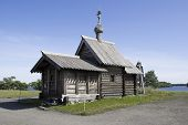Kizhi, Russia. The Church Of The Lasarus Resurrection (xiv Century)