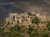 Vathia, abandoned village, Greece