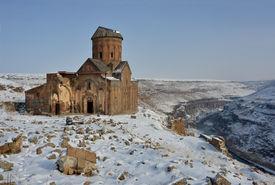 pic of armenia  - Ruins of famous Saint Gregory  - JPG