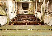 picture of amphibious  - An interior view of a World War Two landing craft - JPG