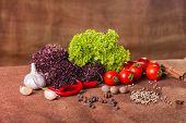 pic of vegetables  - Fresh vegetables - JPG