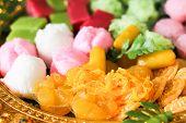 picture of yolk  - Thai golden sweetmeat  - JPG