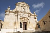 foto of gozo  - The Cathedral of the Assumption of the Blessed Virgin Mary Victoria - JPG