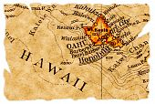 Honolulu Old Map