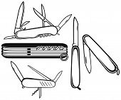 picture of army  - Swiss army knife - JPG