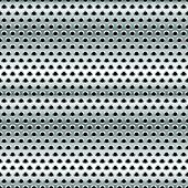 stock photo of metal grate  - Eps 10 Vector Illustration of Perforated Metal Background - JPG