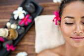 picture of health  - Portrait of spa woman at the health spa - JPG