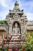stock photo of shiva  - Shiva god stone statue - JPG