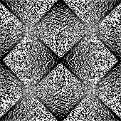foto of uncolored  - Design seamless uncolored geometric pattern - JPG
