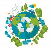 image of save earth  - Eco Friendly - JPG