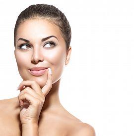 stock photo of cleanse  - Beauty Woman Portrait - JPG